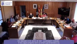 LA CELEBRACIÓ DE SANT JAUME CENTRA EL DEBAT DEL PLE DE JULIOL D'ONDARA